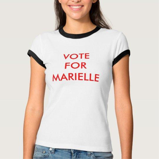 Vote For Marielle T-Shirt