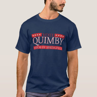 Vote For Mayor Quimby T-Shirt