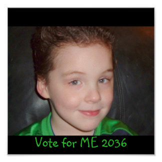 Vote for ME 2036 Poster