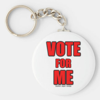 Vote for Me Basic Round Button Keychain