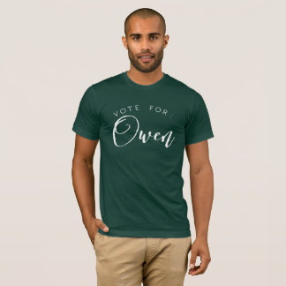 Vote for: Owen T-Shirt