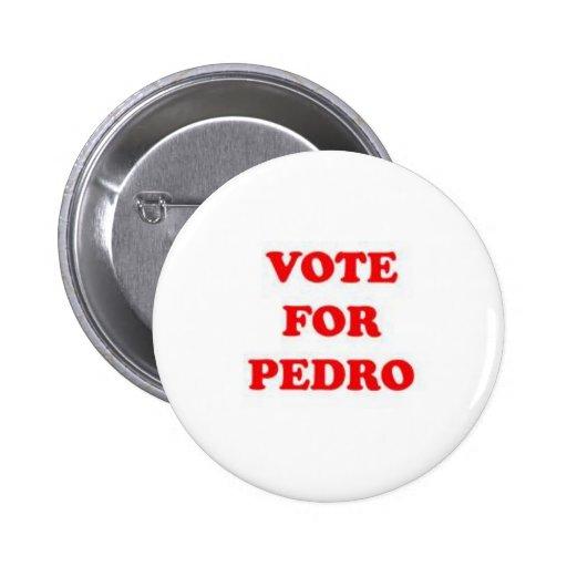 vote for pedro button
