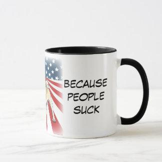 Vote for Pug, Because People Suck Mug