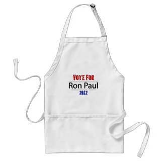 Vote for Ron Paul in 2012 Standard Apron