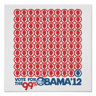 Vote for the 99 Percent - Poster