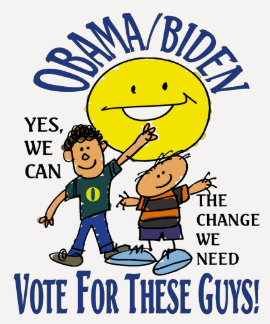 VOTE FOR THESE GUYS T SHIRT