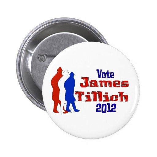 Vote For Tillich Pin