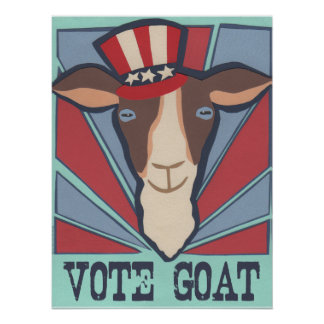 Vote Goat Poster