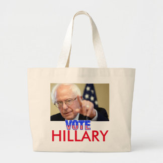 VOTE HILLARY LARGE TOTE BAG