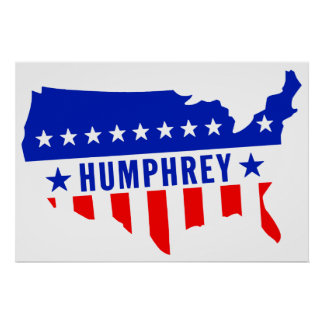 Vote Hubert Humphrey Poster