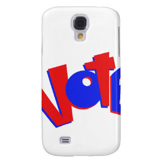 VOTE in red and blue text bouncy election swag