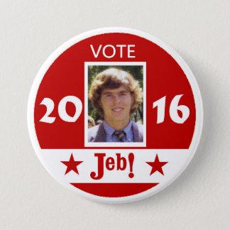 Vote Jeb 2016 3 Inch Round Button