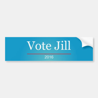Vote Jill 2016 Bumper Sticker