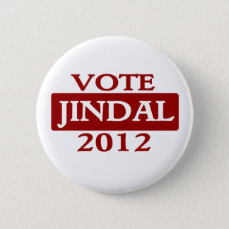 Vote Jindal 2012 Buttons (Pick Your Size!)