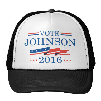 Vote Johnson 2016 Trucker Hat