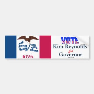 Vote Kim Reynolds for Governor Bumper Sticker