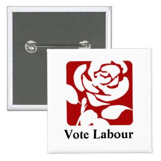 Vote Labour button