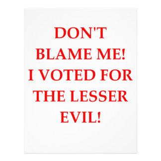 VOTE LETTERHEAD