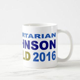 Vote Libertarian Johnson-Weld 2016 Classic White Coffee Mug