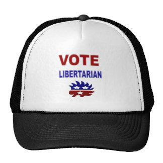 Vote Libertarian Trucker Hat