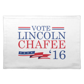 Vote Lincoln Chafee 2016 Placemats