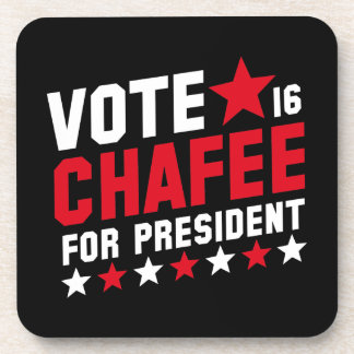 Vote Lincoln Chafee Beverage Coaster
