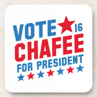 Vote Lincoln Chafee Beverage Coasters