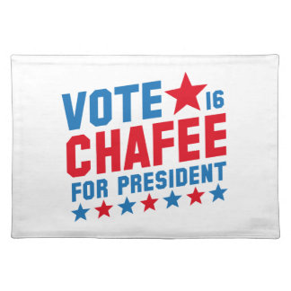 Vote Lincoln Chafee Place Mat