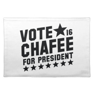 Vote Lincoln Chafee Placemats