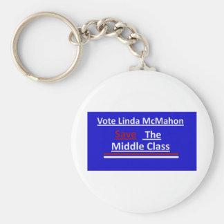 Vote Linda McMahon 2012 Senate Race Keychain