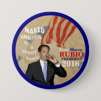 Vote Marco Rubio President 2016 3 Inch Round Button