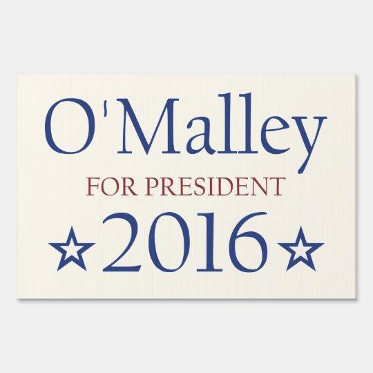 Vote Martin O'Malley President 2016