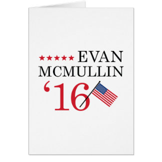 Vote McMullin 2016 Card