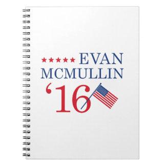Vote McMullin 2016 Spiral Note Books