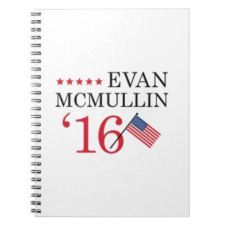 Vote McMullin 2016 Spiral Notebooks