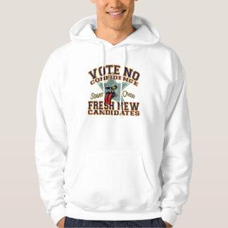 Vote no Confidence Hoodie