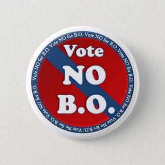 Vote No for B.O. 2 Inch Round Button