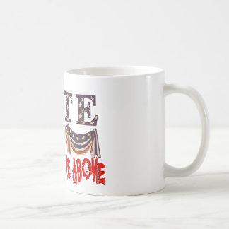 VOTE NONE OF THE ABOVE COFFEE MUG