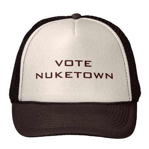 Vote Nuketown hat brown