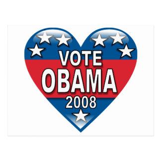 Vote Obama 2008 Post Cards