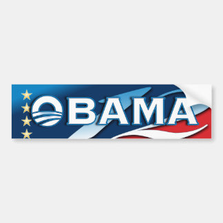 Vote OBAMA 2012 Bumper Stickers