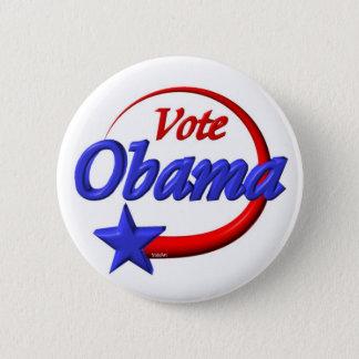 Vote Obama 2012 . Create the future 2 Inch Round Button