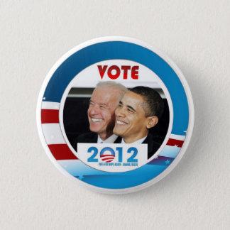 Vote Obama / Biden 2012 2 Inch Round Button