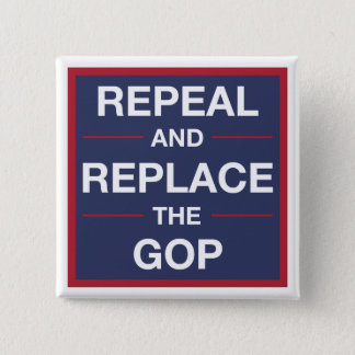 Vote out the GOP! Resist! 2 Inch Square Button
