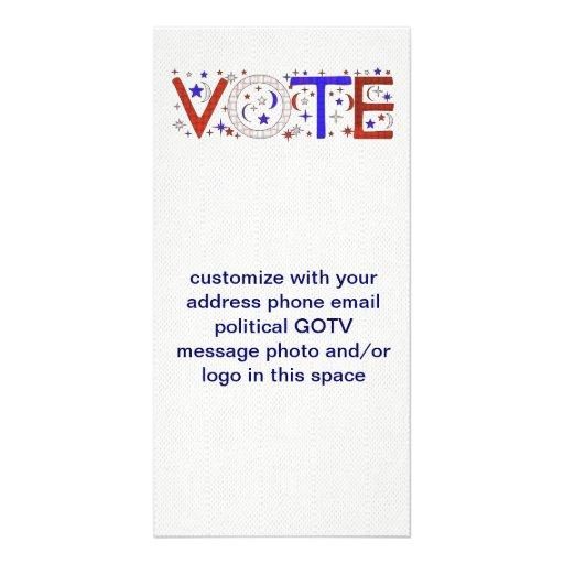 VOTE PICTURE CARD