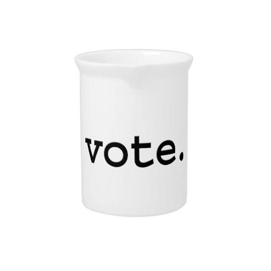 vote. pitcher