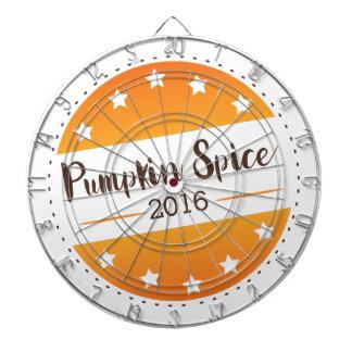 Vote Pumpkin Spice Dartboard