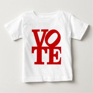 VOTE (red) Baby T-Shirt