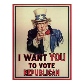 Vote Republican Posters