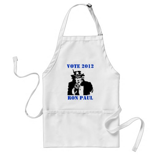 VOTE RON PAUL 2012 APRONS